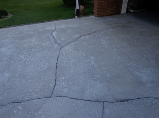 Damaged Driveways